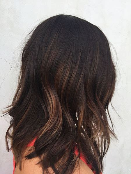 short dark brown hairstyles