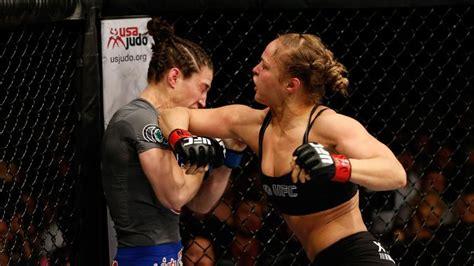 ufc fights rousey ronda ever fight vs mcmann sara rhonda