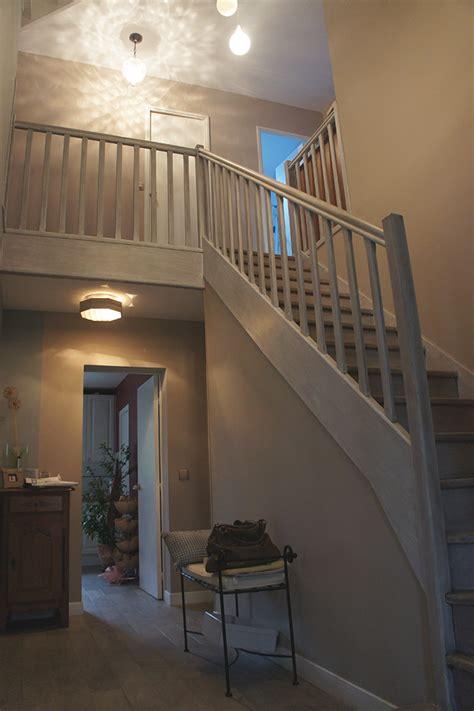 decoration maison entree escalier