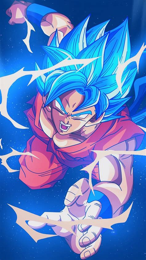 Anime Wallpaper Blue - bc54 goku blue illustration anime wallpaper