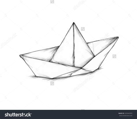 Origami Boat Drawing by Boat Paper Step By Step Pencil And In Color