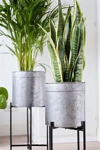 Jira, Large, Planter, U0026, Flower, Pot, With, Stand, Indoor, U0026, Outdoor, Set, 3