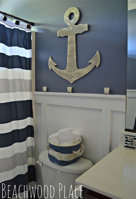 cute decor details  nautical bathroom style motivation