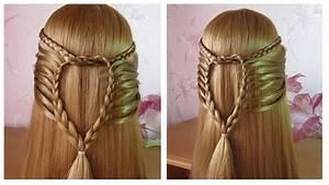 Tresse Facile à Faire Soi Même : tuto coiffure simple cheveux long mi long coiffure facile a faire soi meme youtube ~ Melissatoandfro.com Idées de Décoration