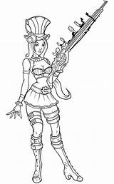 Sheriff Caitlyn Coloring Printable sketch template
