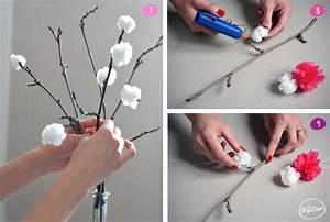 Comment Faire Des Pompons Avec Un Appareil : diy faire un bouquet de fleurs avec des sacs plastiques ~ Zukunftsfamilie.com Idées de Décoration
