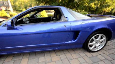 2000 acura nsx t long beach blue pearl 6 speed manual