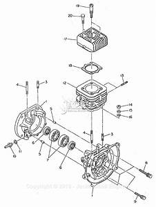 Robin  Subaru Ec12 Delmag Parts Diagram For Crankcase