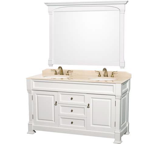 antique bathroom vanity set andover 60 inch antique bathroom vanity set white finish