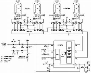 tube clock schematic get free image about wiring diagram With nixie tube clock circuit