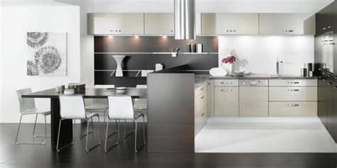 virtuvės dizainas juoda balta namų dizainas