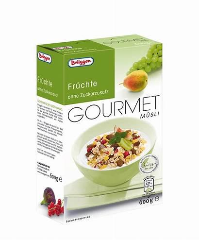 Gourmet Brueggen Brand Mueslis