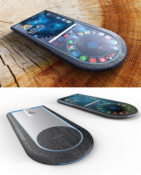 Apollo 2 Smartphone Verf 252 Gt 252 Ber Abgerundete Design Mit Fingerabdruck Sensor Eingebettet In Die