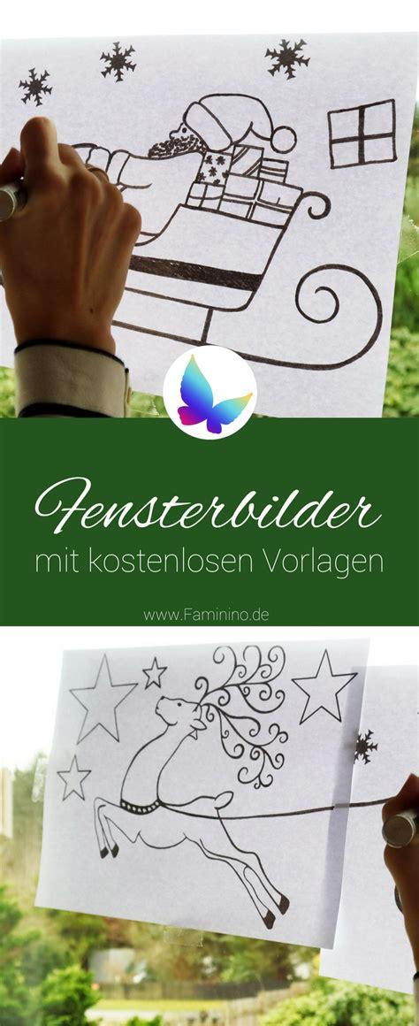 Fensterbilder Weihnachten Vorlagen Für Kinder by Fensterbilder F 252 R Weihnachten Mit Kostenlosen Vorlagen