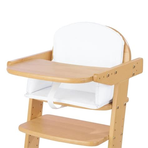chambre bébé pinolino coussin pour chaise haute blanc uni pinolino acheter