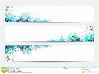 Banner Website Header Royalty Text Clean Dreamstime
