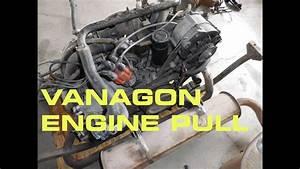 Vanagon Engine Pull