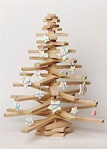 6 arbol de navidad de madera 15 increbles ideas para