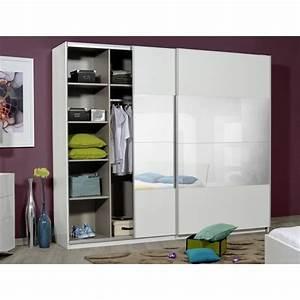 Chambre Dressing : optimus maxi armoire dressing 260 cm blanc achat vente ~ Voncanada.com Idées de Décoration