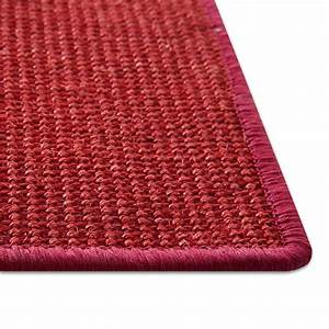 griffoir tapis sisal naturel rouge tapistarfr With tapis griffoir sisal