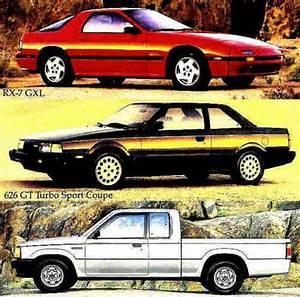 Find 1986 Mazda Brochure