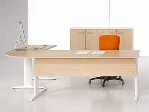 Bureau D Angle En Bois : bureau d 39 angle eckart en bois ~ Melissatoandfro.com Idées de Décoration