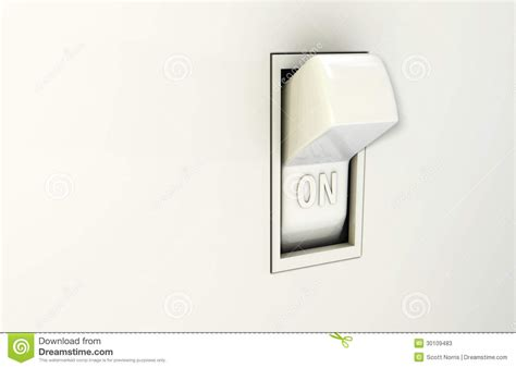wall switch on stock photos image 30109483