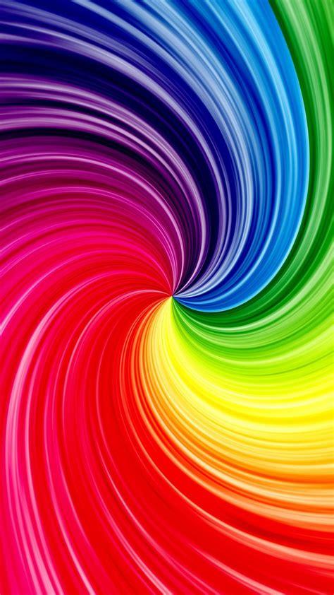 rainbow pattern wallpapersc smartphone