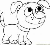 Pound Puppies Coloring Wagster Pages Coloringpages101 Dinky sketch template