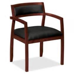 hon basyx by hon hvl852 wood guest chair officesupply