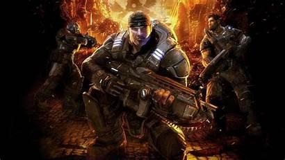Gears War Marcus Gow Fenix Soldier Gun