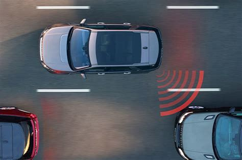 blind spot monitor 2018 land rover discovery sport technology land rover usa