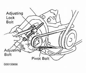 2007 Toyota Corolla Serpentine Belt Diagram