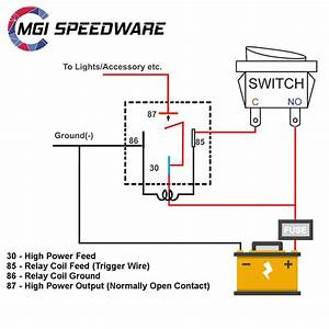 Spotlight Wiring Diagram 5 Pin Relay