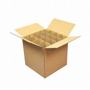Carton Pour Verre : carton sp cial fl tes champagne 25x25x25cm ~ Edinachiropracticcenter.com Idées de Décoration