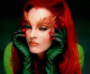 Poison Ivy, actresses, batman, beautiful, colors, colours ...