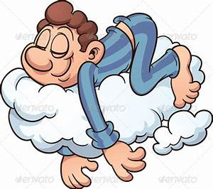 Sleeping on a Cloud | GraphicRiver