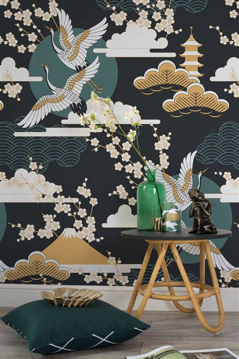 dark sky oriental wallpaper walls  love oriental