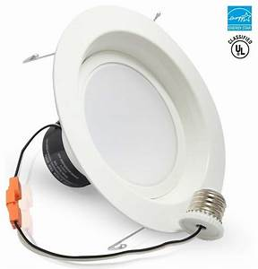 W quot dimmable led recessed ceiling light daylight
