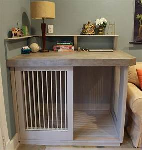 best 25 custom dog beds ideas on pinterest wood dog bed With dog crate desk