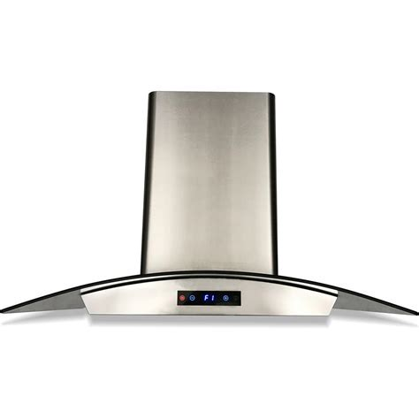Cavaliere 36 in. Ducted Wall Mounted Range Hood in