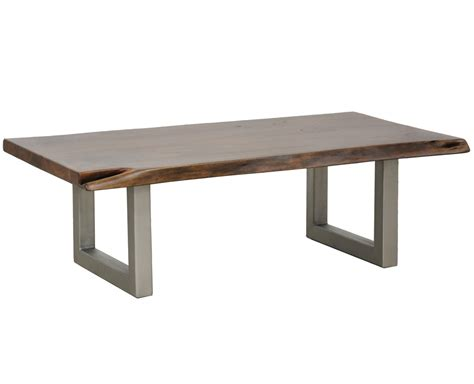 wood coffee table with metal legs montana solid wood metal leg coffee table zin home