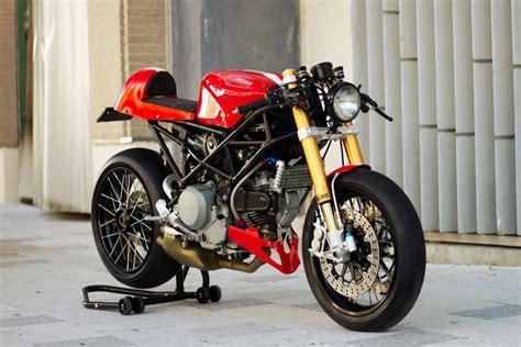 I Spry. Cohn Racer's 'agile' Ducati S2r Cafe Racer