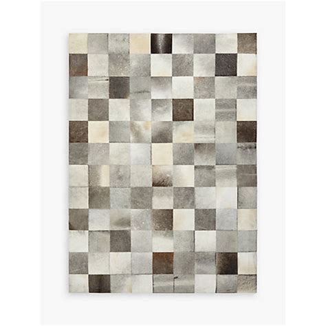 Cowhide Rug Singapore by Buy Lewis Grey Cowhide Tiles Rug Lewis