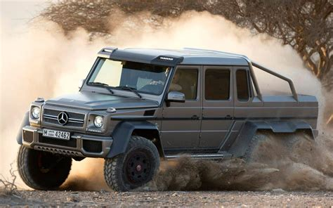 mercedes benz g class 6x6 interior mercedes benz g63 amg 6x6 is new king of the g class family