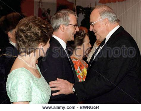 Photo Gallery Is Helmut Kohl Being Held Like German Chancellor Helmut Kohl L And The Prime Minister