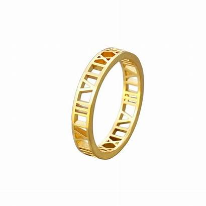 Roman Tendance Bague Rings Numerals Ring Numeral