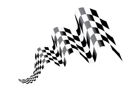 create waving checkered flag art  adobe illustrator