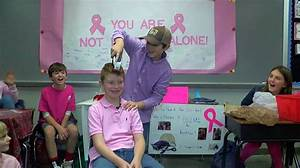 Oak Mountain 4th-grader shaves head to support teacher ...