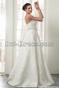 strapless long modern lace wedding dresses miami img 5534 With wedding dress miami